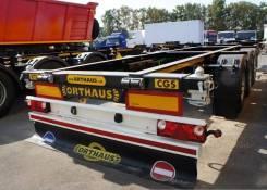 Orthaus. CGS010 контейнеровоз 45 футов раздвижной ССУ 1100 мм, 3 370кг.