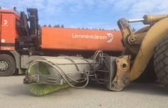 Дорожные щётки с гидравлическим поворотом для фронтального погрузчика