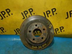 Диск тормозной задний не вентилируемый 265 мм. Subaru SG