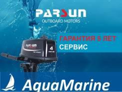 Parsun. 4,00л.с., 2-тактный, бензиновый, нога S (381 мм), 2019 год