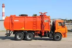 КамАЗ 65115. Мусоровоз с боковой загрузкой КО-440-5 на шасси Камаз 65115, 11 762куб. см.