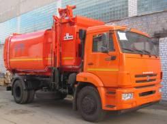 КамАЗ 43253. Мусоровоз с боковой загрузкой КО-449-19 на шасси Камаз 43253, 6 700куб. см.