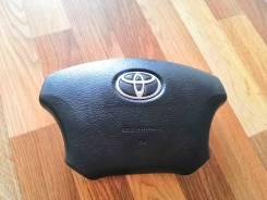Подушка безопасности водителя. Toyota Land Cruiser Toyota Land Cruiser Prado, GRJ120, GRJ120W, GRJ121W, GRJ125W, KDJ120, KDJ120W, KDJ121W, KDJ125W, LJ...