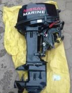 Nissan Marine. 30,00л.с., 2-тактный, бензиновый, нога S (381 мм), 2016 год