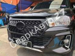 Бампер. Toyota Hilux Pick Up, GUN125, GUN125L, GUN126L 1GDFTV, 2GDFTV