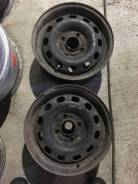 Пара оригинальных железных дисков R14, Ford 4x108