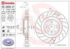 Диск тормозной передний Brembo,09A95821