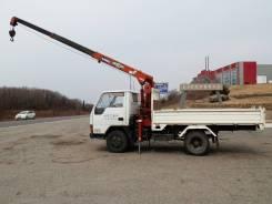 Услуги бортового грузовика с краном манипулятором.2 т. в Уссурийске.