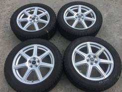 215/55 R17 Bridgestone Revo GZ литые диски 5х100 (K16-1704)