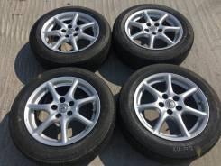225/55 R17 Dunlop SP Sport 270 литые диски 5х114.3 (K16-1712)