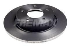 Диск тормозной задний Mazda 3 (BK, BL) 03-14 / 5 (CR19, CW) 05-