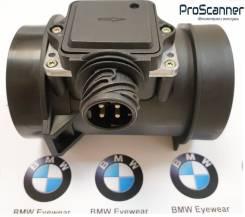 Датчик расхода воздуха. BMW 5-Series, E39 BMW 7-Series, E38 BMW 3-Series, E36, E36/2, E36/2C, E36/3, E36/4, E36/5 BMW 3-Series Gran Turismo M52, M52B2...