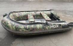 Продам лодку HDX 280 AL с мотором 5 л/с (+ подарок)
