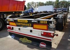 Orthaus. CGS010 контейнеровоз 45 футов раздвижной ССУ 1100 мм, 18 000кг.