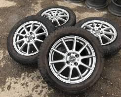 """Waren R15 4*100 5.5j et43 + 175/65R15 Bridgestone Blizzak Revo GZ 2016. 5.5x15"""" 4x100.00 ET43"""