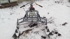 Лыжный модуль на мотобуксировщик