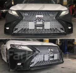 Бампер Toyota Camry 70 стиль Lexus ( Камри 2018+ ) ASV70