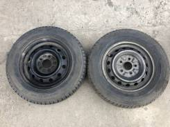 "Пара колёс 185/70R14 на штамповках. x14"" 5x114.30"