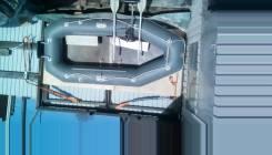 Продаётся лодка ПВХ Юкона 290 + слань + транец + электромотор .