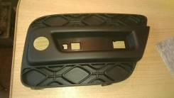 Накладка на бампер. Renault Sandero Stepway, 5S H4M, K4M, K7M