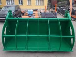 Ковш с прижимом 2 куб. м. для фронтального погрузчика