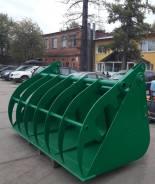 Новый ковш с прижимом 2,5 куб. м. для фронтального погрузчика