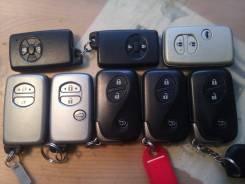 Ключ зажигания, смарт-ключ. Lexus: RX350, RX450h, RX270, LX450d, LX570, LX460 Toyota Land Cruiser, GRJ200, UZJ200, UZJ200W, VDJ200 Toyota Land Cruiser...