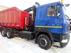 Ломовоз металловоз Маз 6x4 Евро-5 с Palfinger Vm10L74 В наличии 2019. 11 150куб. см.