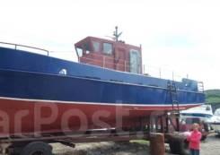 Проект 371 Адмиралтеец. длина 12,60м., двигатель стационарный, 240,00л.с., дизель