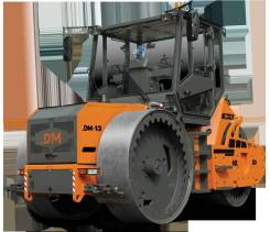 Завод ДМ DM-13-SD. Каток дорожный трехвальцовый статический DM-13-SD вес 13 т