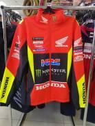 Куртка демисезонная Honda красный/жёлтый