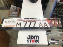 JDMstore| Рамка для госномера (нержавеющая сталь) Toyota, Camry