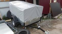 Легковой прицеп багем с кузовом 205х130 + тент от пола до верха 100см