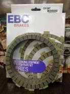 Диски сцепления фрикционные EBC Brakes Honda CRF450R 02-10, Kawasaki KX