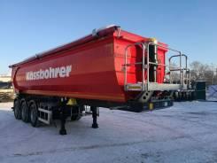 Kassbohrer. самосвальный полуприцеп 32 м3 новый, 30 600кг.