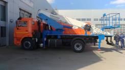 Автогидроподъемник ВИПО-28-01 на шасси КАМАЗ-43253 (4х2), 2020