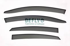 Дефлекторы окон Hyundai Solaris 2017 - н.в.