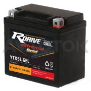 Аккумулятор Rdrive eXtremal Gold YTX5L-GEL 4 а/ч п. т.70а