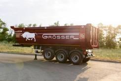 Crosser. Самосвальный полуприцеп HalfPipe, Grosser 30 м3, 31 700кг.