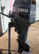 Yamaha. 30,00л.с., 2-тактный, бензиновый, нога L (508 мм), 1996 год