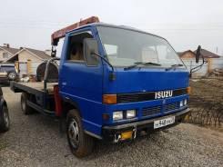 Isuzu Elf. Продается грузовик с манипулятором, 3 600куб. см., 3 000кг., 4x2