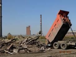 Вывоз мусора: маз - 10т. и камаз - 15т. ежедневно.