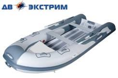 Лодка РИБ Gladiator RIB 380 AL. Жесткий корпус из алюминиевого сплава.