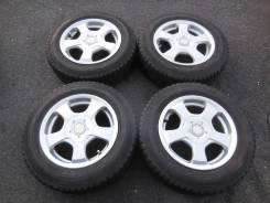"Комплект колес Weds Ravrion + Goodyear Icenavi ZEA Hybrid 175/70R14. 6.0x14"" 4x100.00, 4x114.30 ET38"