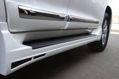 Молдинги дверей широкие Toyota Land Cruiser 200/LC 200
