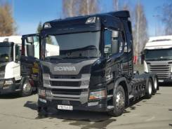 Scania G410. 6x2 на метане в Барнауле, 13 000куб. см., 6x2