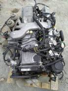 Двигатель в сборе. Toyota Land Cruiser, HDJ81, HDJ81V 1HDFT