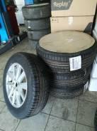 4 колёса: новые летние шины Nokian 225/65R17 на дисках б/у