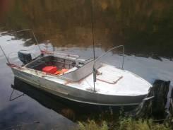 Лодка прогресс 2м с мотором гольфстрим 40