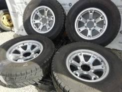 """Стильные диски Weds Keeler на шинах Yokohama 265/70R16. 7.0x16"""" 6x139.70 ET5"""